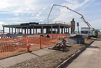Boathouse at Canal Dock Phase II   State Project #92-570/92-674 Construction Progress Photo Documentation No. 08 on 21 February 2017. Image No. 01