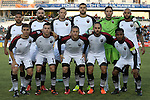16 April 2016: Ottawa's starters. Front row (from left): <br /> 23 17 30 8 6<br /> 7 22 25 33 1 19<br />  The Carolina RailHawks hosted Ottawa Fury FC at WakeMed Stadium in Cary, North Carolina in a 2016 North American Soccer League Spring Season game. Carolina won the match 1-0.