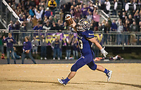 NWA Democrat-Gazette/BEN GOFF @NWABENGOFF<br /> Carson Ray of Booneville scores a touchdown in the fourth quarter vs Prescott Saturday, Dec. 1, 2018, during the class 3A state semifinal game at Bearcat Stadium in Booneville.