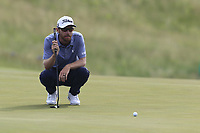 Nick Flanagan (AUS) on the 3rd green during Friday's Round 2 of the 117th U.S. Open Championship 2017 held at Erin Hills, Erin, Wisconsin, USA. 16th June 2017.<br /> Picture: Eoin Clarke | Golffile<br /> <br /> <br /> All photos usage must carry mandatory copyright credit (&copy; Golffile | Eoin Clarke)
