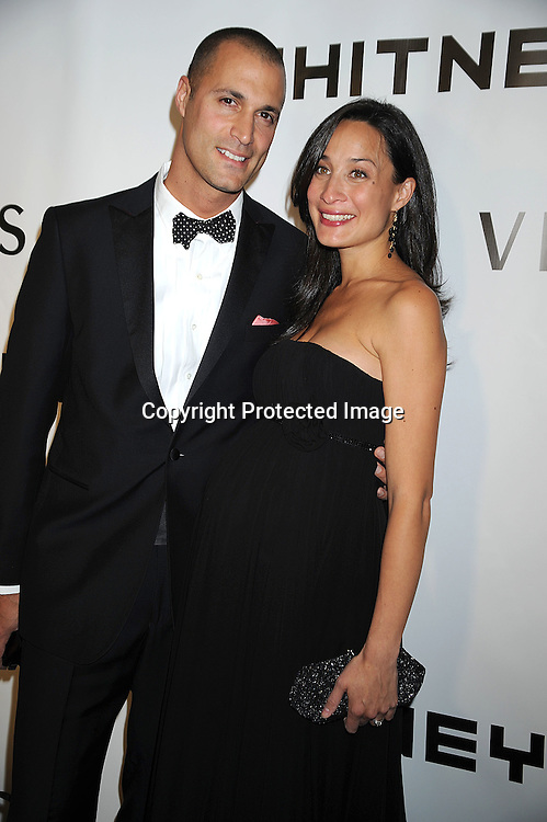 Nigel Barker and wife Christen Chin Baker.arriving at The Whitney Museum of American Art's Gala on October 20, 2008 at The Whitney Museum in New York City. ..Robin Platzer, Twin Images