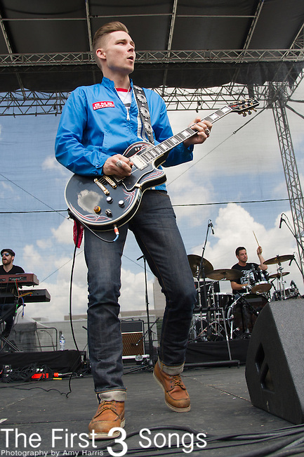 Frankie Ballard performs onstage during the ACM Party For A Cause Festival at Globe Life Park on April 18, 2015 in Arlington, Texas.
