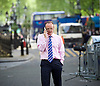 Norman Smith, BBC News reporter working in Downing Street, London, Great Britain  <br /> 11th May 2015 <br /> <br /> Norman Smith <br /> BBC News journalist <br /> <br /> Photograph by Elliott Franks <br /> Image licensed to Elliott Franks Photography Services