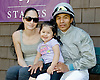 Abel Mariano & family at Delaware Park on 5/31/12
