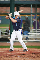 Samuel Corn (11) of Cumberland Regional High School in Bridgeton, New Jersey during the Under Armour All-American Pre-Season Tournament presented by Baseball Factory on January 14, 2017 at Sloan Park in Mesa, Arizona.  (Art Foxall/MJP/Four Seam Images)