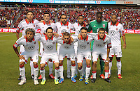 D.C. United starting eleven during the first half of the U.S. Open Cup Final on October 1, 2013 at Rio Tinto Stadium in Sandy, Utah.