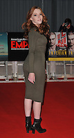 Charlotte Spencer at the Empire Live &quot;Swiss Army Man&quot; and &quot;Imperium&quot; double bill film premieres, The O2, Peninsula Square, London, England, UK, on Friday 23 September 2016.<br /> CAP/CAN<br /> &copy;CAN/Capital Pictures /MediaPunch ***NORTH AND SOUTH AMERICAS ONLY***