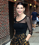 "Celebrities visit ""Late Show with David Letterman"" August 29, 2011"