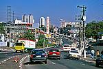 Avenida Francisco Morato, Butantã, São Paulo. 1995. Foto de Juca Martins.