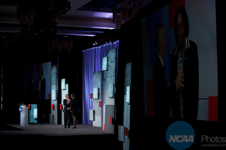 13 JAN 2011: The NCAA Honors Celebration inside the Grand Hyatt during the annual NCAA Convention held in San Antonio,TX. .Pictured: Teresa Edwards.(Joshua Duplechian/NCAA Photos).
