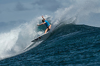 /NAMOTU, Fiji (Tuesday, May 30, 2017) Bianca Buitendag (ZAF) - The Outerknown Fiji Women&rsquo;s Pro, Stop No. 5 on the 2017 World Surf League (WSL) Championship Tour (CT), got underway today with Round 1 starting at 8:05 a.m. local time at Cloudbreak in building three-to-four foot surf.<br /> <br /> The conditions had definitely improved at Cloudbreak overnight and organisers pressed right through the day to complete Rounds 1,2 and 3. Conditions varied because of the winds and the tide with long lulls around the afternoon low tide. Completion wrapped up at 5pm local time.<br />  Photo: joliphotos.com