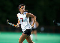 STANFORD, CA - September 3, 2010: Elise Ogle during a field hockey match against UC Davis in Stanford, California. Stanford won 3-1.