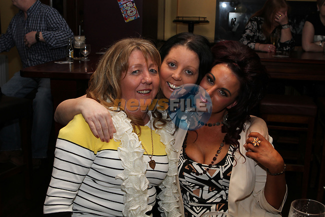 Christine, Paula and Jennifer in McHughs...(Photo credit should read Jenny Matthews/NEWSFILE)...