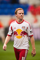 Dax McCarty (11) of the New York Red Bulls. The New York Red Bulls defeated the Houston Dynamo 2-0 during a Major League Soccer (MLS) match at Red Bull Arena in Harrison, NJ, on June 30, 2013.