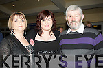 AWARDS: Chris,Katatie and Michael O'Shea (Castlemaine) having a good time at the Munster Athletics Awards night in the Brandon Hotel, Tralee on Saturday night............. ....
