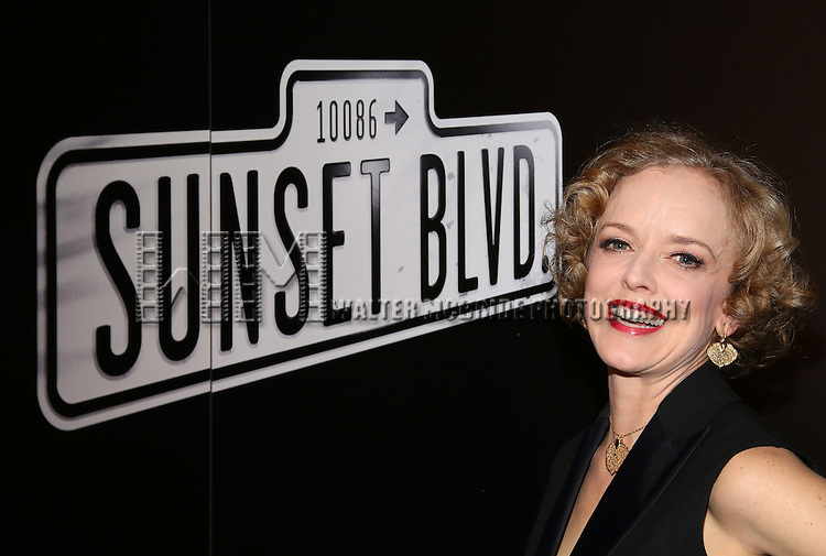 Nancy Anderson attends the Opening Night After Party for Andrew Lloyd Webber's 'Sunset Boulevard' at the Cipriani on February 9, 2017 in New York City.
