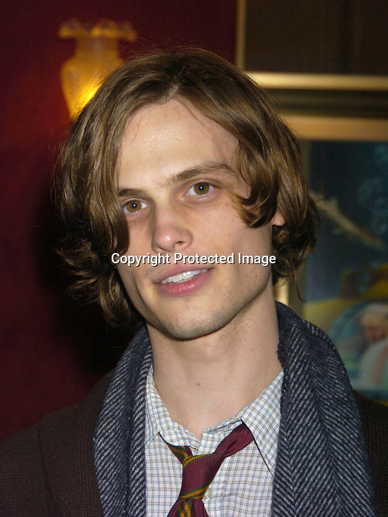 "Matthew Gray Gubler ..at The World Premiere of ""The Life Aquatic with Steve Zissou""  on December 9, 2004 at The Ziegfeld Theatre. ..Photo by Robin Platzer, Twin Images"