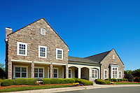 Photography of Charlotte's Berewick community, a planned development located in southwest Charlotte. Image shows the Berewick Manor House.