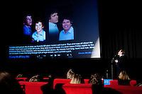 Amsterdam, 24 november 2010.International Documentary Film Festival IDFA,.DocLab live: Storytelling at Tuschinski.Mischa Wertheim.Photo by Corinne de Korver