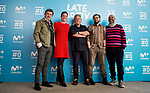 Maria Jose Rodriguez, Edu Arroyo, Javier Duran and Bob Pop attends to the presentation of Late Motiv during FesTVal 2017 in Burgos, Spain. March 29, 2017. (ALTERPHOTOS/BorjaB.Hojas)
