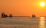 Sunset off the shores in Key West, Florida on May 26,2009                                                                     Copyright 2009 Debbie VanStory / RockinExposures