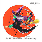 GIORDANO, CUTE ANIMALS, LUSTIGE TIERE, ANIMALITOS DIVERTIDOS, Halloween, paintings+++++,USGI2004,#AC#
