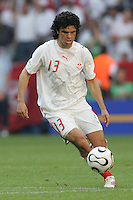 Riadh Bouazizi of Tunisia. Saudi Arabia and Tunisia played to a 2-2 tie in their FIFA World Cup Group H match at FIFA World Cup Stadium, Munich, Germany, June 14, 2006.