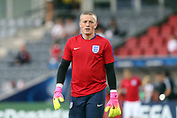 Jordan Pickford of England before England Under-21 vs Poland Under-21, UEFA European Under-21 Championship Football at The Kolporter Arena on 22nd June 2017