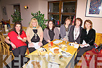 Cahersiveen Mother & Toddler Group on their Christmas night out at Number Five Bistro in Cahersiveen on Saturday night pictured front l-r; Toni Sands, Michelle Sheehan, Siobhan Hurley, Aoife Griffin, Carol Turner & Cindy Riordan.