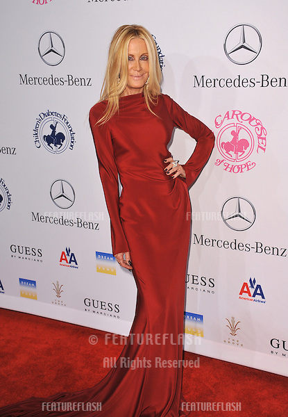 Joan Van Ark at the 26th Carousel of Hope Gala at the Beverly Hilton Hotel..October 20, 2012  Beverly Hills, CA.Picture: Paul Smith / Featureflash