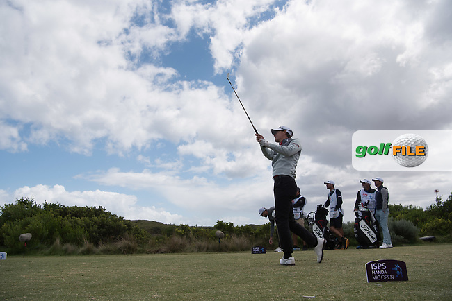 Jason Scrivener (NZL) during the 3rd round of the VIC Open, 13th Beech, Barwon Heads, Victoria, Australia. 09/02/2019.<br /> Picture Anthony Powter / Golffile.ie<br /> <br /> All photo usage must carry mandatory copyright credit (© Golffile | Anthony Powter)