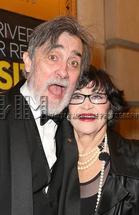 Roger Rees and Chita Rivera  attends the Broadway Opening Night Cast Photo Call for 'The Visit'  at the Lyceum Theatre on April 23, 2015 in New York City.