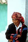 População indígena, Antigua, Guatemala. 1985. Foto de Juca Martins.