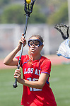Torrance, CA 05/11/13 - Caitlin Derry (Los Alamitos #12) during the 2013 Los Angeles/Orange County Championship game between Los Alamitos and Agoura.  Los Alamitos defeated Agoura 19-4.