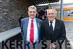 Ted Moynihan and Dr. Tom McCormack pictured at the opening of the new 15 bed in-patient PalliatIve Care Unit at University Hospital Kerry Hospice on Friday last.