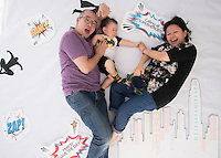 UBS Family Day 2015 - Photo Booth Super Heroes