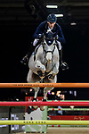 Daniel Deusser of Germany riding Cornet D'Amour competes in the Longines Grand Prix during the Longines Masters of Hong Kong at AsiaWorld-Expo on 11 February 2018, in Hong Kong, Hong Kong. Photo by Zhenbin Zhong / Power Sport Images