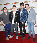 Big Time Rush attends the 102.7 KIIS FM'S Jingle Ball 2011 held at The Nokia Theater Live in Los Angeles, California on December 03,2011                                                                               © 2011 DVS / Hollywood Press Agency