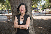 Jenny Low, Sustainability Coordinator (Photo by Marc Campos, Occidental College Photographer)