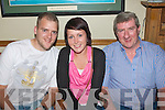 0861-0863.---------.Birthday.--------.Tommy Hurley(Rt)from Marian Pk,Tralee enjoying a jar in Dowdies bar,Boherbue,Tralee last Saturday night for his 57th birthday with his son Tho?mas and Channelle McInerney.