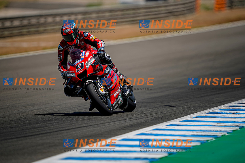 Danilo Petrucci Ducati Team <br /> Jerez 26/07/2020 Moto Gp De Andalucia Spagna / Spain<br /> Photo Ducati Press Office / Insidefoto <br /> EDITORIAL USE ONLY