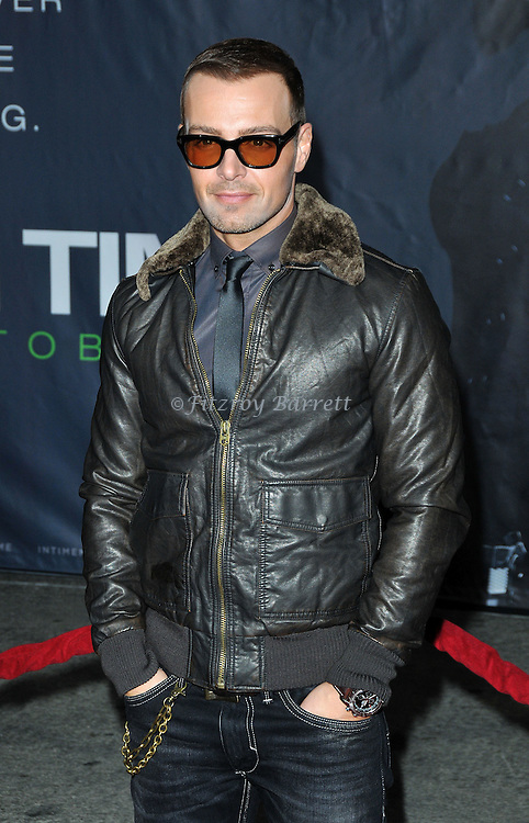 Joey Lawrence at the premiere of In Time held at The Regency Village Theater in Westwood, Ca. October 20, 2011