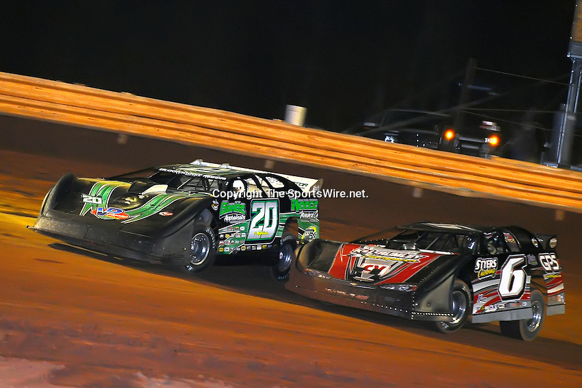 Jan 28, 2010; 7:51:27 PM; Waynesville, GA., USA; The Southern All Stars Racing Series running The Super Bowl of Racing VI at Golden Isles Speedway.  Mandatory Credit: (thesportswire.net)