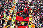 30/05/2011 Manchester United League Cup parade