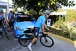 Sir Dave Brailsford Team Sky joins his riders for a morning training ride before Stage 1 of the La Vuelta 2018, an individual time trial of 8km running around Malaga city centre. Mijas, Spain. 23rd August 2018.<br /> Picture: Eoin Clarke | Cyclefile<br /> <br /> <br /> All photos usage must carry mandatory copyright credit (&copy; Cyclefile | Eoin Clarke)