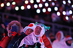 Japanese fans, <br /> MARCH 9, 2018 - : <br /> PyeongChang 2018 Paralympics Winter Games Opening Ceremony <br /> at PyeongChang Olympic Stadium in Pyeongchang, South Korea. <br /> (Photo by Sho Tamura/AFLO SPORT)
