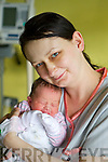 Leap Year Babies born at Kerry General Hospital on Wednesday 29th of February Justina Swierkot, Listowel with baby Victoria..