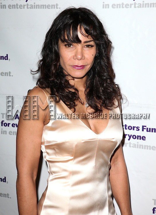 Daphne Rubin-Vega.attending the Actors Fund Gala honoring Harry Belafonte, Jerry Stiller, Anne Meara & David Steiner at the Mariott Marquis Hotel in New York City on 5/21/12