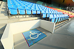 wheelchair spaces, <br /> AUGUST 20, 2018 - Equestrian : <br /> Dressage Team <br /> at Jakarta International Equestrian Park <br /> during the 2018 Jakarta Palembang Asian Games <br /> in Jakarta, Indonesia. <br /> (Photo by Naoki Nishimura/AFLO SPORT)