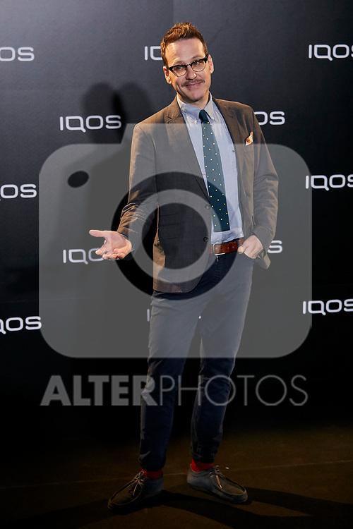 Joaquin Reyes attends to IQOS3 presentation at Palacio de Cibeles in Madrid, Spain. February 13, 2019. (ALTERPHOTOS/A. Perez Meca)